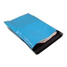 Versandtaschen aus recyceltem Kunststoff babyblau