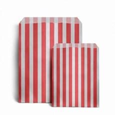 Papiertüten rot-weiß gestreift