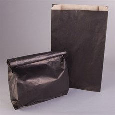 Extrastarke Papiertüten schwarz