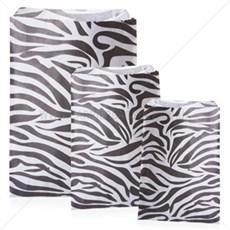 Papiertüten Zebradesign
