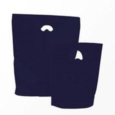 Premium Plastiktragetaschen biologisch abbaubar marineblau