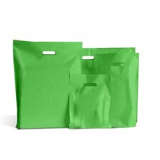 Standard Plastiktragetaschen hellgrün