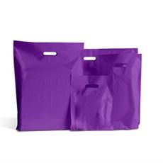 Standard Plastiktragetaschen lila
