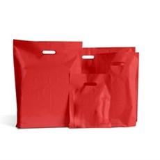 Standard Plastiktragetaschen rot
