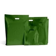 Standard Plastiktragetaschen moosgrün