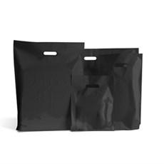 Standard Plastiktragetaschen schwarz