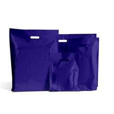 Standard Plastiktragetaschen marineblau