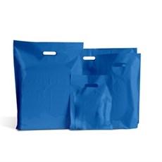 Standard Plastiktragetaschen königsblau