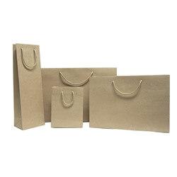 Luxus Natur Papiertragetaschen