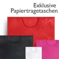 Exklusive Papiertragetaschen