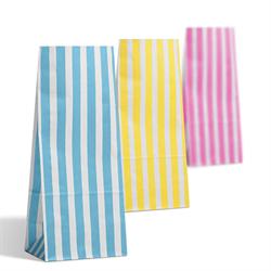 Farbige Papiertüten