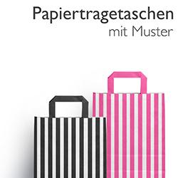 Papiertragetaschen mit Muster