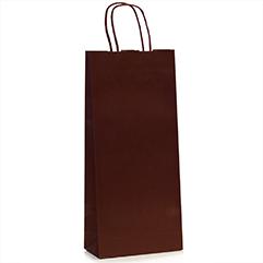 Premium Papiertragetaschen für Weinflaschen