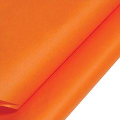 Seidenpapier, orange