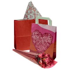 Valentinstag-verpackungen