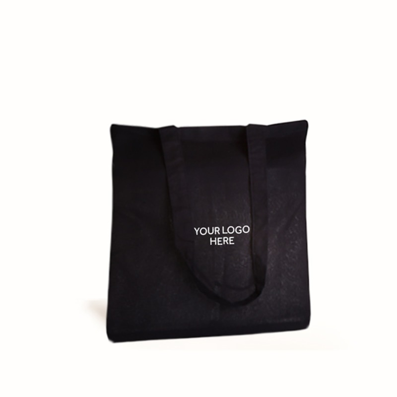 Black Printed Cotton Bags